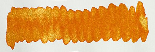 Diamine - Shimmertastic - Shimmering Fountain Pen Ink - Inferno Orange