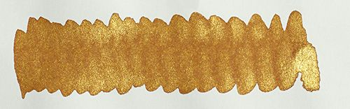 Diamine - Shimmertastic - Shimmering Fountain Pen Ink - Caramel Sparkle