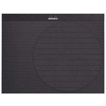 Rhodia - PA Scribe -  Black Paper Calligraphy Practise Pad