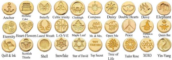 Brass Handle Round Design - Seals