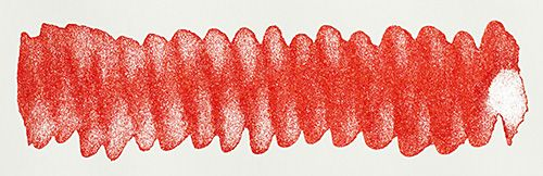 Diamine - Shimmertastic - Shimmering Fountain Pen Ink - Firestorm Red
