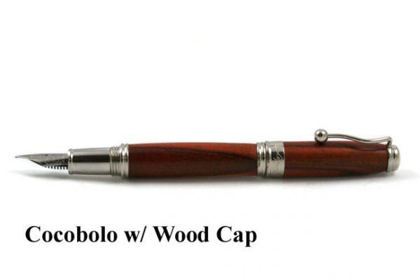 Jean-Pierre Lepine Indigo Classic - Metal Cap - Cocobolo Wood