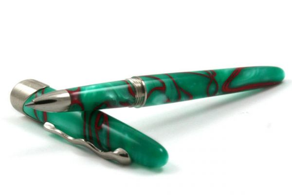 Jean-Pierre Lepine - Samba - Rollerball - Green with Red Filets