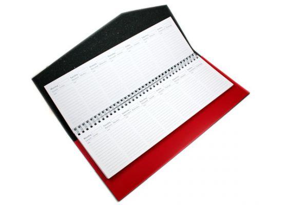 San Lorenzo - Regenerated Leather - Refillable Desk Planner
