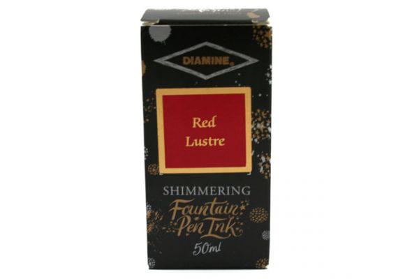 Diamine - Shimmertastic - Shimmering Fountain Pen Ink - Red Lustre