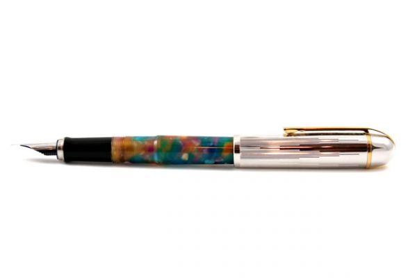 Wahl-Eversharp - SKYLINE Unique Collection - Empire Celluloid - Confetti Pearl Fountain Pen
