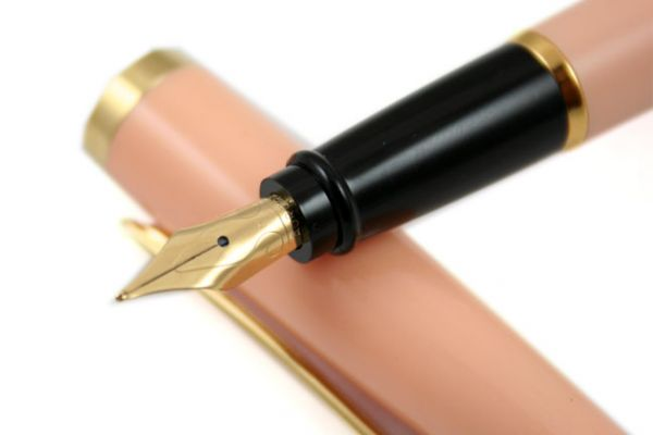 Aurora - Style Collection - Gemstone - Fountain Pen - Rose Quartz