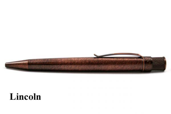 Retro 51 Vintage Metalsmith Collection: Lincoln Tornado Rollerball Pen
