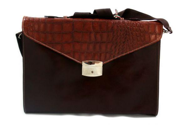 Munari - Small Briefcase Vachetta Cocco