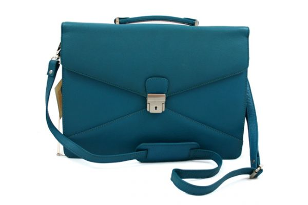 Orna Double Bellow Bag with Shoulder Strap