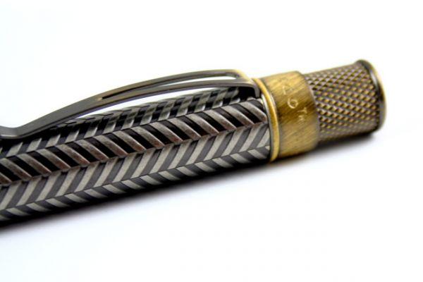 Retro 51 Vintage Metalsmith Collection: Roosevelt Tornado Rollerball Pen
