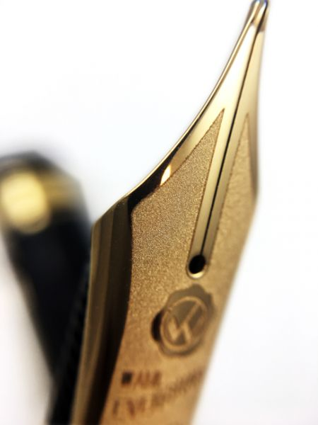 Wahl-Eversharp - Decoband Gold Seal Oversized - Fountain Pen - Gatsby Black Etched