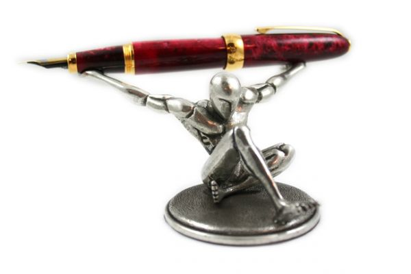"Jac Zagoory mini ""Atlas"" Pen Holder"