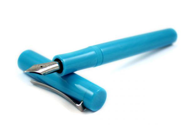 Faggionato - PKS - Fountain Pen - Clear Blue