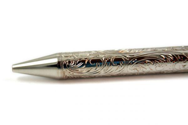 Nespen - Mr. Big - Flowers - Sterling Silver - Ballpoint Pen