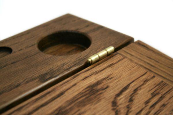 Lap Desk - White Oak- Dark Finish - Large