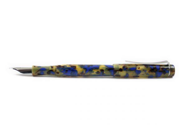 Faggionato - Pétrarque - Fountain Pen - Golden Blue Tortoise