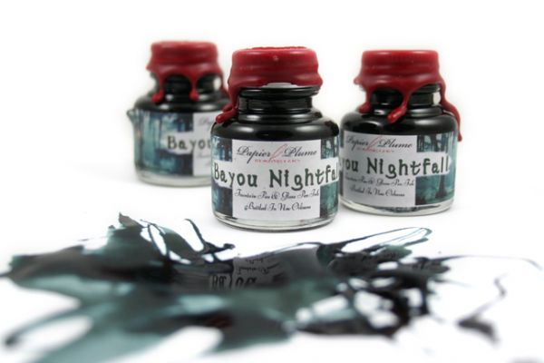 Papier Plume - New Orleans Collection Fountain Pen Ink - Bayou Nightfall