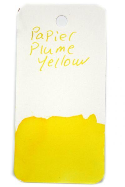 Papier Plume - Fountain Pen Ink - Yellow - 30 ml