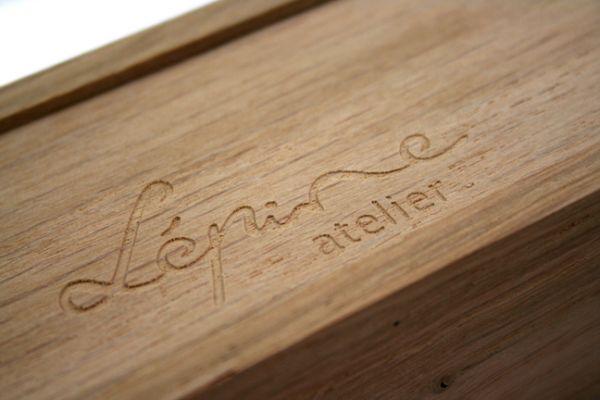 Jean-Pierre Lepine Yuzu Ebony Wood Fountain Pen
