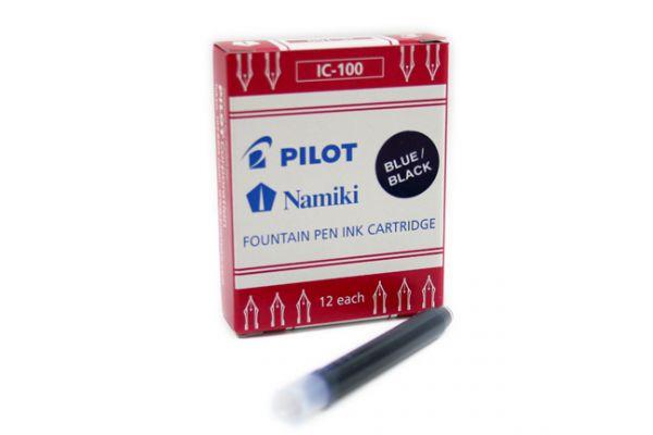 Pilot - Fountain Pen Cartridge - Blue Black