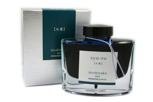 Pilot - Iroshizuku - Fountain Pen Ink - 50ml - Syo-Ro (Dew on Pine Tree)