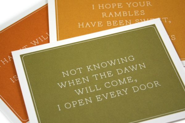 Princeton Architectural Press - Notecards with Envelopes - Emily Dickinson