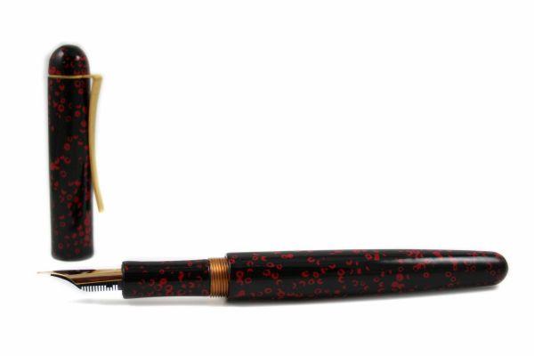 Faggionato - GEB - Urushi Lacquered Ebonite - Red