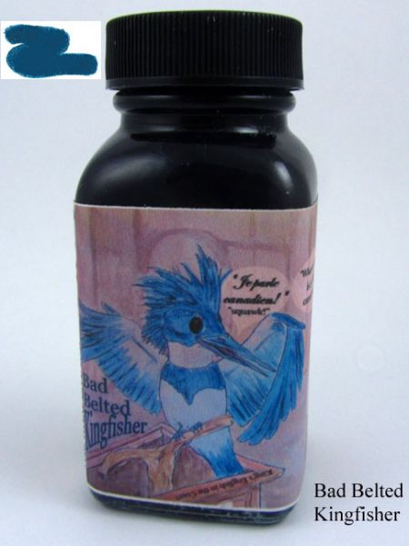 Noodler's Ink 3oz. - Bad Belted Kingfisher