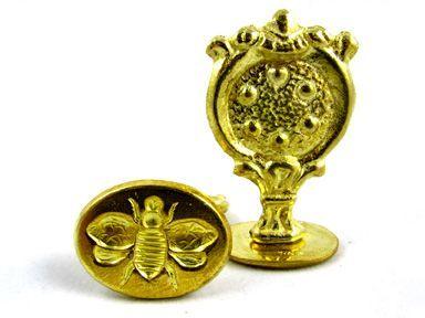Brass Handle Oval Design - Seals