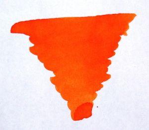 Diamine - Bottled Fountain Pen Ink - Blaze Orange - 30ml