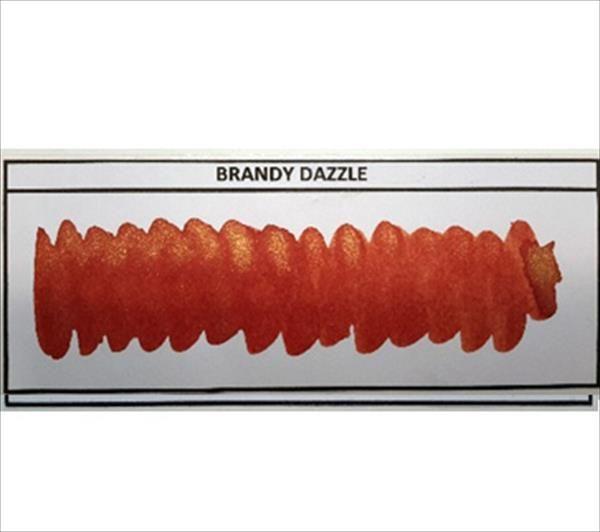 Diamine - Shimmertastic - Shimmering Fountain Pen Ink - Brandy Dazzle