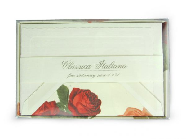 Rossi Rose Small Flat Cards