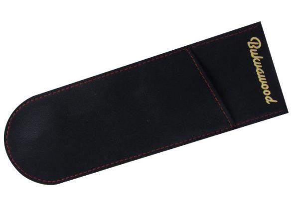 """Bukvawood """"Candy"""" Black Baccara Oblique Nib Holder - Standard"""