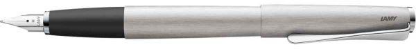 Lamy - Studio - Fountain Pen - Steel Nib - Brushed