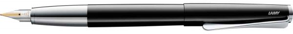 Lamy - Studio - Fountain Pen - Gold Nib - PianoBlack