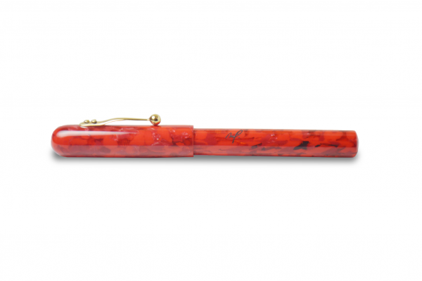 Matthieu Faivet - Mémento Rouge Fountain Pen