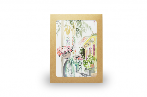 Lyla Clayre Studio - New Orleans Architecture Stationery Set