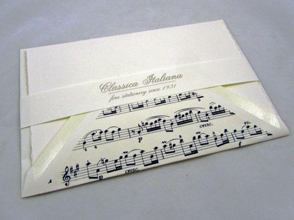 Rossi - Sonata - Medium Fold Over Cards