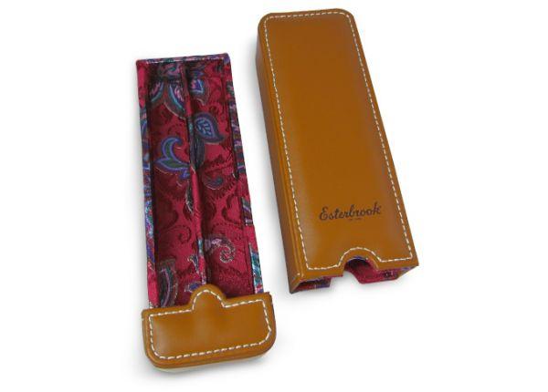 Esterbrook Double Pen Nook - Tan Saddle Brown