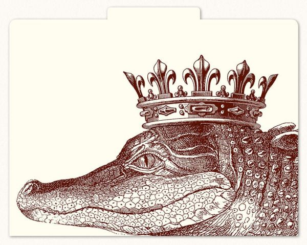 Alexa Pulitzer - King Gator File Folders