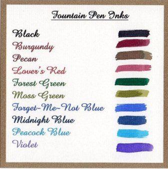 Ink Bottle - Pewter Top - Violet Design