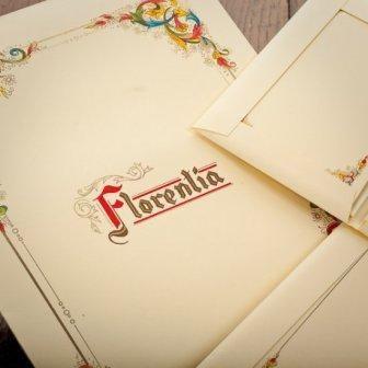 Kartos - Florentia - Stationery Sheets