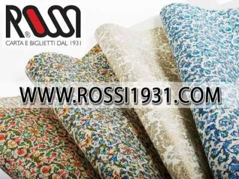 Rossi - Wrapping Paper - Handwriting and Ink