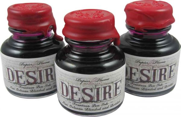 Papier Plume - New Orleans Collection Fountain Pen Ink - Desire