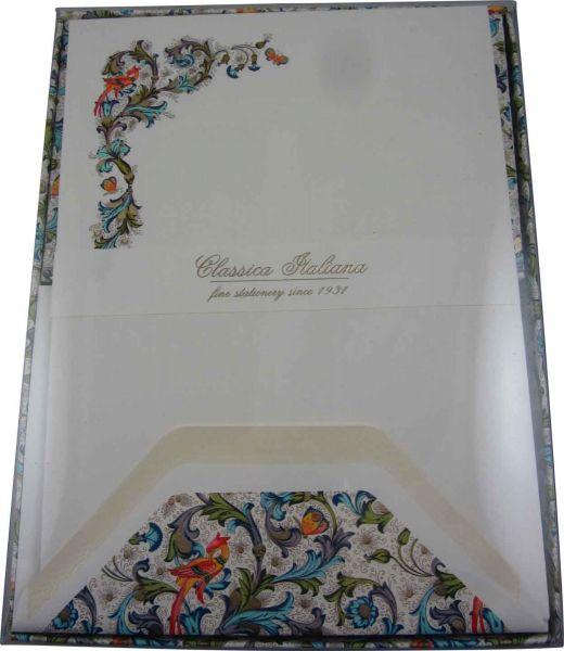 Rossi Bird Florentine Full Stationery Sheets