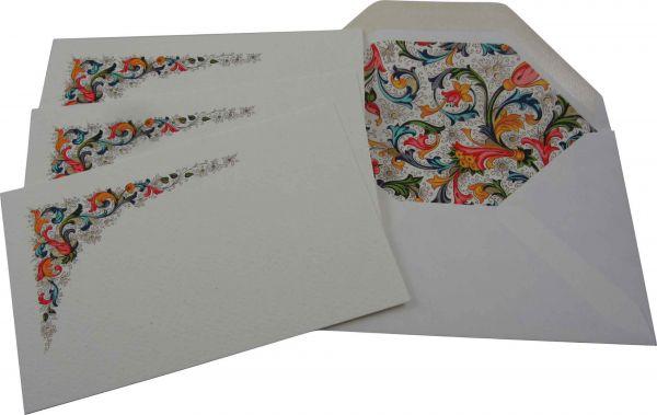 Rossi Traditional Florentine Medium Fold Over Cards