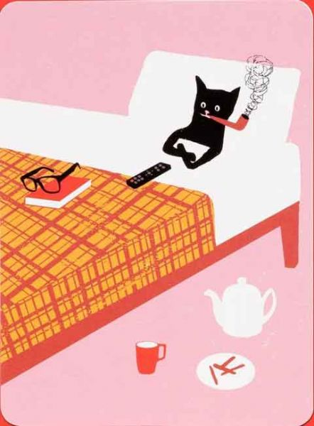 Chronicle Books - Notecards with Envelopes - Le Chat Noir