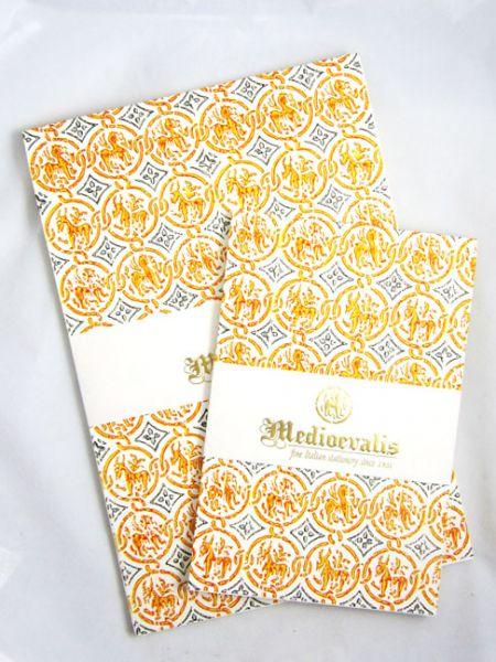 Medioevalis - Writing Pad and Envelopes -  8.25 x 11.75 Inches