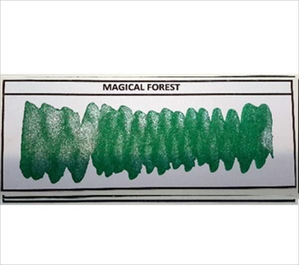 Diamine - Shimmertastic - Shimmering Fountain Pen Ink - Magical Forest